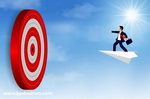 هدف گذاری و حرکت به سمت هدف
