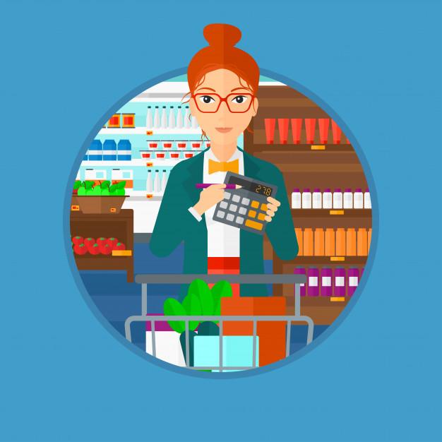 بررسی هزینه خرید برای مصارف شخصی