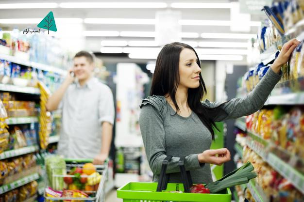 افزایش فروش در سوپرمارکت